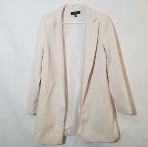 Misguided open front Blazer jacket